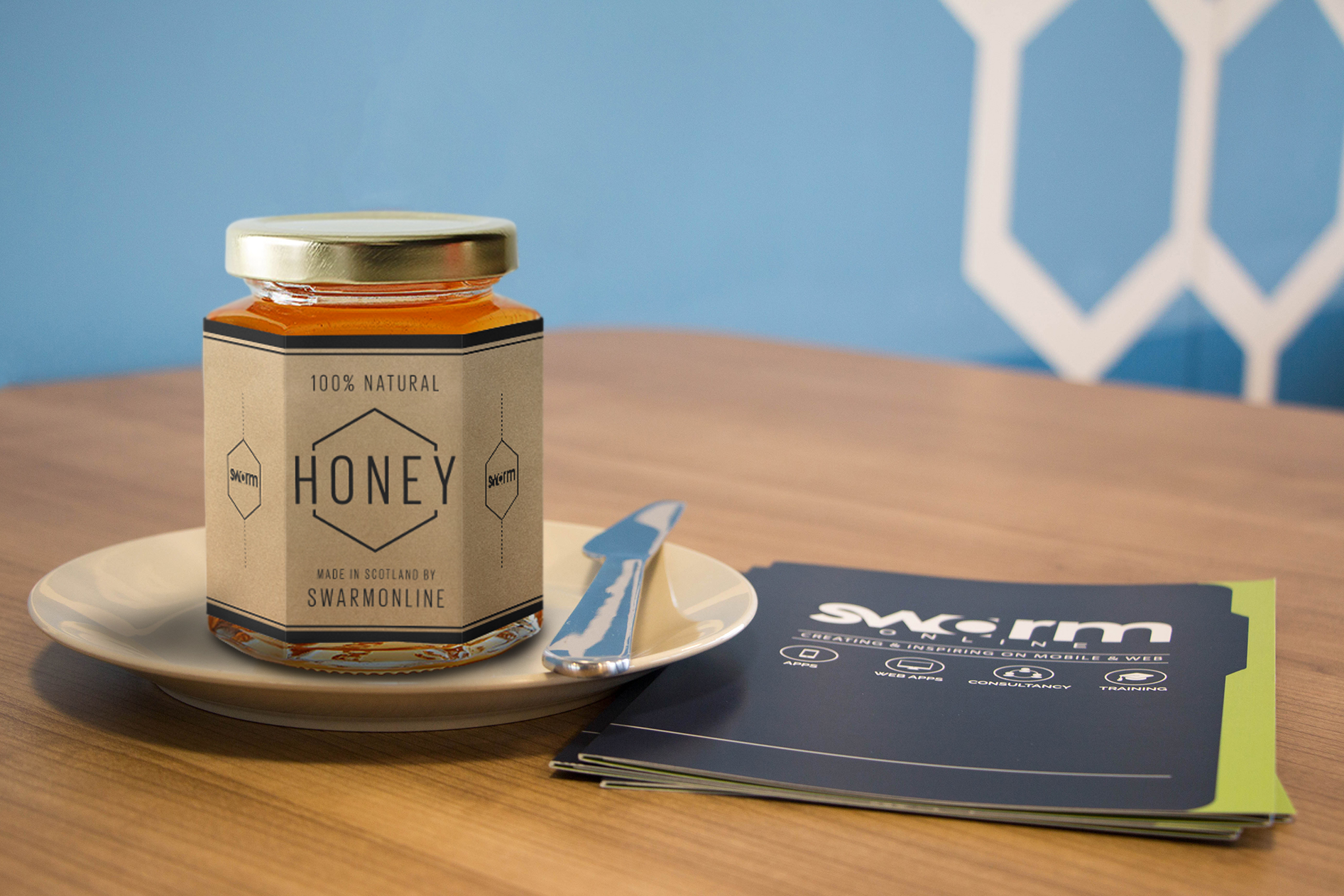 SwarmOnline Launches its Own Range of Honey